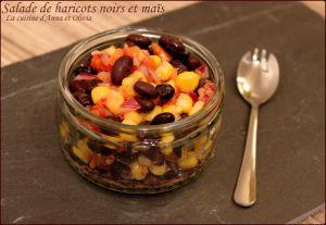 Recette Salade de haricots noirs et maïs