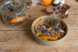 Recette DIY – Un pot pourri d'hiver (fait maison)