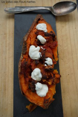 Recette Patates douces chili sin carne