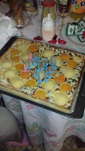 Recette Tarte Bourdaloue aux poires et abricots