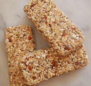 Recette Barres de céréales vegan et sans gluten