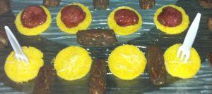 Recette Bouchées à la polenta