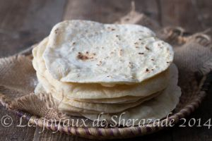 Recette Pain libanais / pain pita à la poêle