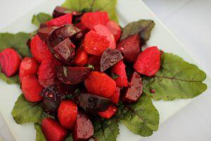 Recette Salade de betteraves rouges (cuisine juive, séfarade, Yom Kippour)