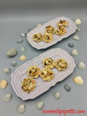 Recette Tartelettes de fruits de mer