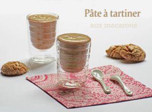Recette Pâte a tartiner maison aux macarons amandes-noisettes