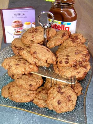 Recette Cookies au nutella