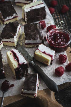 Recette Gourmandises guimauve, framboise et chocolat