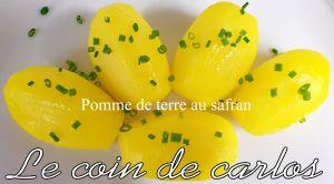 Recette Pomme de terre au safran