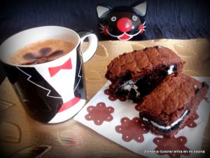 Recette Oreo-brownies