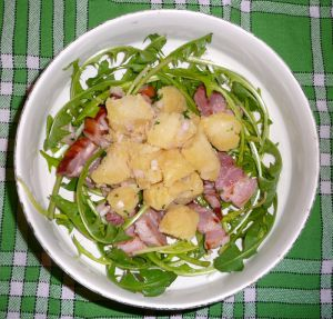 Recette Salade vosgienne au pissenlit
