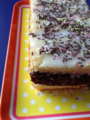 Recette Napolitain ou la métamorphose du gâteau au yaourt