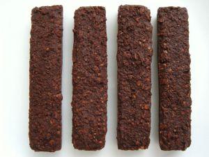 Recette Barres chocolatées allégées noix et céréales