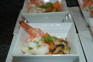 Recette Salade de melon aux fruits de mer