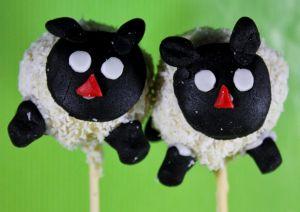 Recette Cake pops moutons