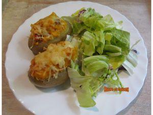 Recette Pommes de terre farcies à la catalane