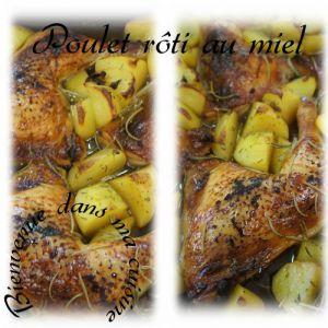 Recette Atelier cuisine(poulet rôti au miel)