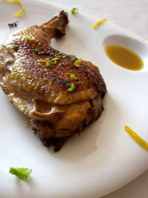 Recette Cuisse de poulet au citron