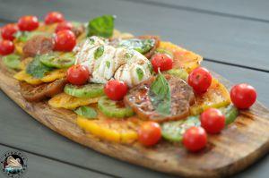 Recette Salade tomates mozzarella treccia à partager