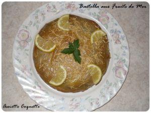Recette Bastella aux fruits de mer