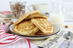 Recette Pancakes Sans Œufs à la Banane