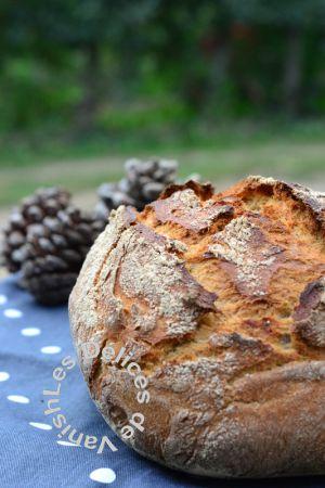 Recette Pain cocotte façon pain de campagne au levain