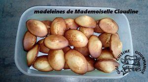 Recette Madeleines de Mademoiselle Claudine