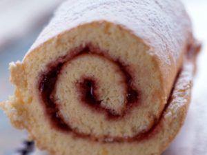 Recette Gâteau roulé aux fraises