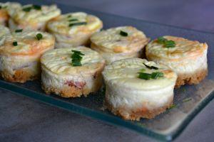Recette Mini-cheesecakes au chorizo