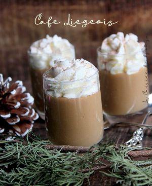 Recette Crème au café liegeois ou dessert viennois