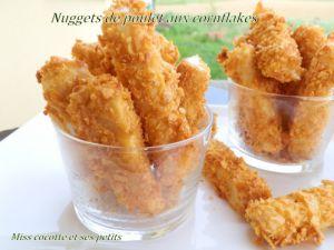 Recette Nuggets de poulet aux cornflakes