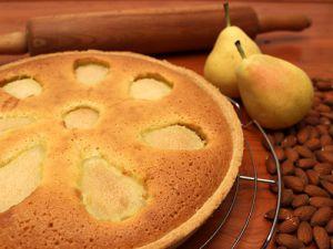 Recette Poiré - Gâteau aux Poires et Frangipane