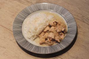 Recette Mijoté de poulet au cidre breton - Tour en cuisine n°355