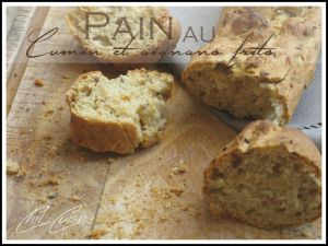 Recette Pain au cumin et oignons frits
