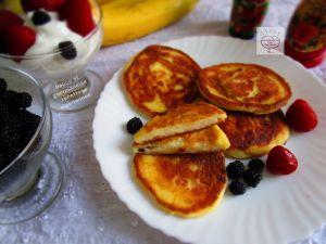 Recette Syrniki cheese pancakes
