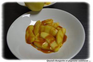 Recette 12 ans de notre blog et des pommes tiedes au caramel beurre sale