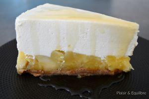 Recette Cheesecake aux pommes caramélisées et sirop d'érable