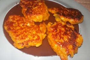 Recette Croquette de carottes