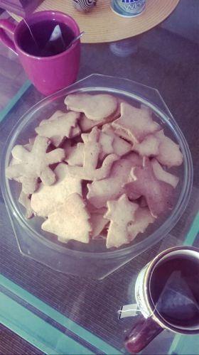 Recette Biscuits sablés aux noisettes