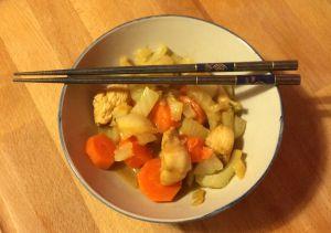 Recette Poulet mariné et cuisiné à l'asiatique