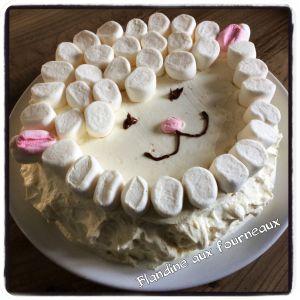 Recette Mon petit gâteau mouton