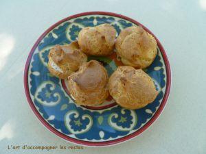Recette Mini choux apéritifs au sésame et à la ciboulette