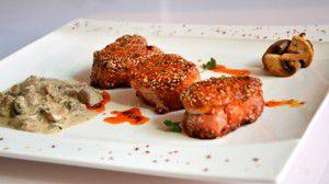 Recette Filet mignon de porc aux sésames