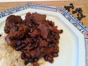Recette Ragout mexicain de boeuf aux haricots noirs