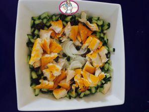 Recette Salade de lentilles au haddock