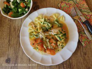 Recette Casserole de poulet au pineau des Charentes +