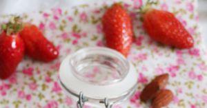 Recette Frozen Yogurt aux Amandes & Fraises