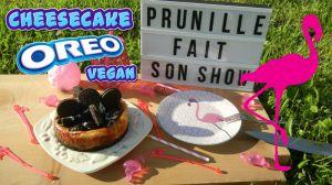 Recette Cheesecake oréo et citron , version végétalien ( vegan)