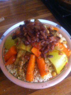 Recette Couscous légumes et poulet