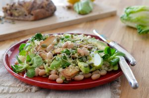 Recette Salade detox citronnée avec tout plein de choses